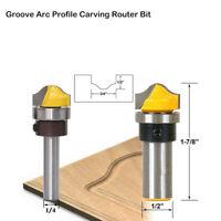 "3/4 ""Durchmesser Router Bit 1/4""& 8 &1/2'' Schaft Holzbearbeitung Werkzeuge"