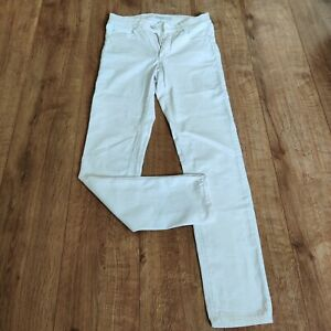 Angels heaven on earth white skinny stretchy high rise jeans size 38 UK 10