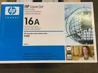 GENUINE HP Q7516A BLACK TONER HP LASERJET 5200**NIB SEALED** $86/OBO