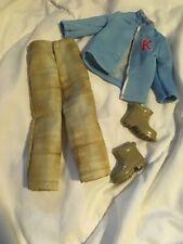 Ken Doll Clothes - Fashion Avenue B3222 Pants Blue K Jacket Boots 2002