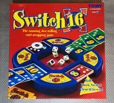 TOMY SWITCH 16 BOARD CARD GAME 2003 *100% COMPLETE WITH INSTRUCTIONS