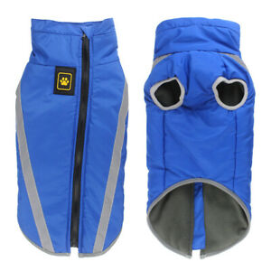 Waterproof winter dog warmer coat Vest jacket dog warm clothes padded Large dogs