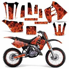 Graphic Kit Suzuki RM 125 RM 250 Dirt Bike Decal MX Motocross Deco 90-92 ICE ORG