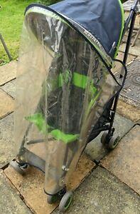 Maclaren Mistral Stroller, Pushchair, Day Tripper+ rain cover shopping buggy bag