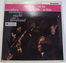 ANOTHER MONDAY NIGHT AT BIRDLAND Album Vinyl 33rpm LP MONO VG