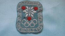 ecusson jeux olympiques grenoble 1968