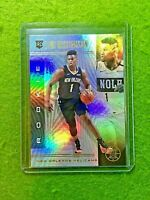 ZION WILLIAMSON ILLUSIONS PRIZM ROOKIE CARD JERSEY #1 PELICANS 2019-20 Illusions