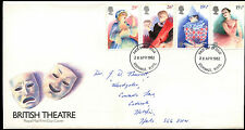 GB FDC 1982 British Theatre, Stevenage FDI  #C39515