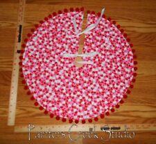 """Lots Of Hearts Mini Tree Skirt 20""""dia, Valentine's Day, Heart"""