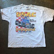 Men's Vintage Delta USAC Rocky Mountain Classic Inaugural Race T Shirt Tee Sz XL