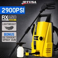 2900PSI High Pressure Electric Pressure Washer 8M grade hose Vari Nozzle 5L/min