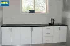 Polyurethane Kitchen Bar 2.7m  (Kitchen Cabinets +poly doors, no bench top) $862