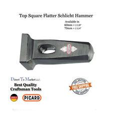 NEW Picard Schlicht hammer, Square top hammer flatter  70mm Blacksmith  tools
