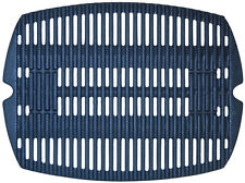 "Weber Q100 Q120 Matte Porcelain Coated Cast Iron Cooking Grate 16.82"" x 12.57"""