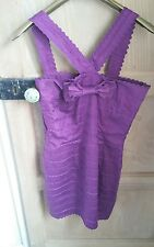 lipsy rik rak body con  dress size 12 rare