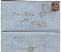# 1856 LIVERPOOL SPOON E BRETHERTON LETTER TO JOHN HOSTAGE CHESTER SOLICITOR