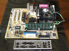 Asus P4S800-MX SE motherboard with Intel Pentium-4 3.4GHz CPU & 1.5Gb Ram