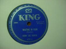 IVORY JOE HUNTER KING RARE R&B BLUES 78 ~ That's The Gal For Me