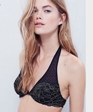 FREE PEOPLE All That Glitters Underwire Lace Bra 34B