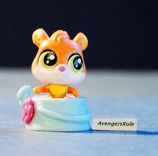 Littlest Pet Shop Pet Hideouts Series 1 #3856 Cat Brown Pink