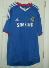 Chelsea Fc Men's Adidas Blue Football Soccer Jersey Extra Large Used
