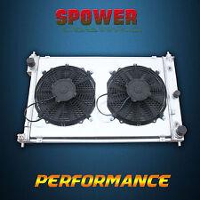 For Ford Falcon AU XR6 XR8 6Cyl V8 AT Aluminum Radiator + Fan Shroud 1998-2002