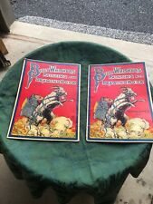 (2) Billy Wiskers Painting & Drawing Books Saalfield Publishing Co.
