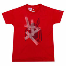 adidas Cotton Blend Crew Neck T-Shirts & Tops (2-16 Years) for Boys