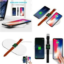 Qi Wireless Charger Quick Charge Fast Wireless Charging Pad For Apple Watch 3in1