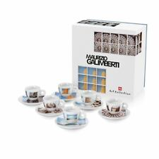 ILLY Collection 2018 Maurizio Galimberti 6 Espresso Cups Signed Coffee cup