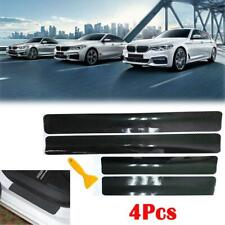 4D Sticker Carbon Fiber Scuff Plate Door Sill Panel Anti Scratch Car Accessories