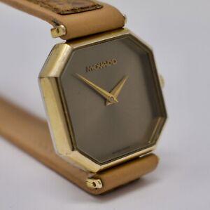 Vintage 1970s Ladies Zenith Movado Wristwatch 17j Swiss, Good Running!