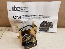 NOS Industrial Timer ITC CM-6 Recycling 5-Minute Timer 120V 10A 6645-00-708-8569