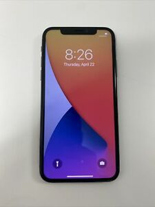FAULTY APPLE IPHONE X - SPACE GREY - 64GB - UNLOCKED - NO WIFI
