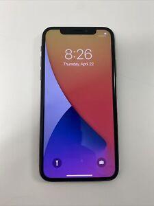 FAULTY APPLE IPHONE X - SPACE GREY - 64GB - UNLOCKED - NO WIFI