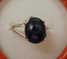 Saphir - Ring   Sterlingsilber 925    Gr. 58 (18,4 mm Ø)