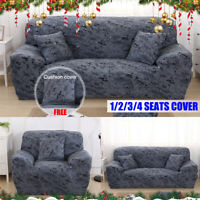 1/2/3/4 Seater Universal Elastic Stretch Sofa Cover Slipcover Couch Protector