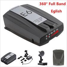 Car Full Band GPS Speed E6 Anti-Radar Detector Camera Scanning Voice Alert Laser