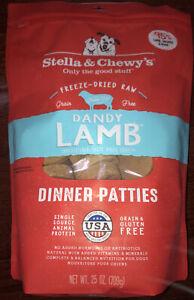 Stella & Chewy's Freeze-dried Raw Dandy Lamb Dinner Patties Dog Food 25oz Bag