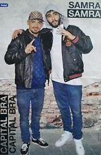 CAPITAL BRA & SAMRA - A3 Poster (42 x 28 cm) - Rapper Clippings Fan Sammlung NEU