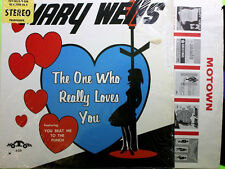 "MARY WELLS-""ONE WHO REALLY LOVES YOU""~""MOT-605~U.S. PRESS.~-NEAR MINT""""~ LP!!!"