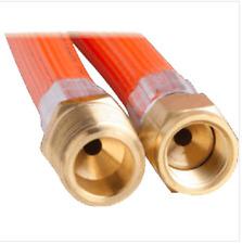 LPG NATURAL GAS HOSE 6mm PVC 5/16'' SAE FF x 3/8'' BSP M 6HJR0900 900mm
