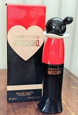 CHEAP AND CHIC MOSCHINO 25ml perfume bottle for COLLECTORS