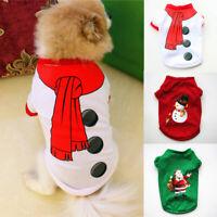 Short Sleeve Dog Clothes Dog Sweater Dog Shirt Puppy Dog Accessory