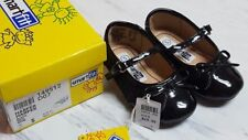 NEW Mary Jane~SIZE 5~Black Patent Leather~Baby Girls Dress Shoes~Smartfit