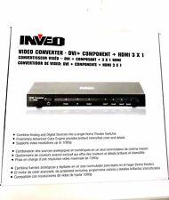 INVEO Video Converter - DVI + Component + HDMI 3 x 1 114-42275