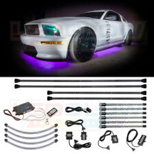 LEDGlow 4pc MILLION COLOR UNDERBODY KIT 4pc WHEEL WELL & 6pc LED INTERIOR LIGHTS