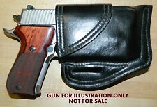 Gary C's Leather Avenger HOLSTER SigSauer P220 Carry with CT Railmaster CMR-2014