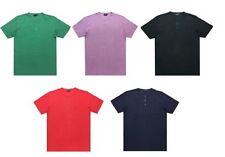 Unifarbene Herren-T-Shirts aus Baumwolle in 7XL