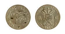 s1170_297) NETHERLANDS INDIES - INDIE OLANDESI 1/10 GULDEN  AG 1858